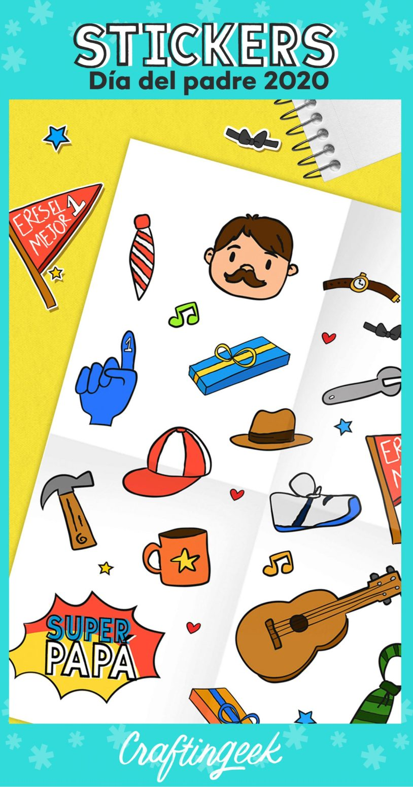 Stickers Día del Padre_Portada