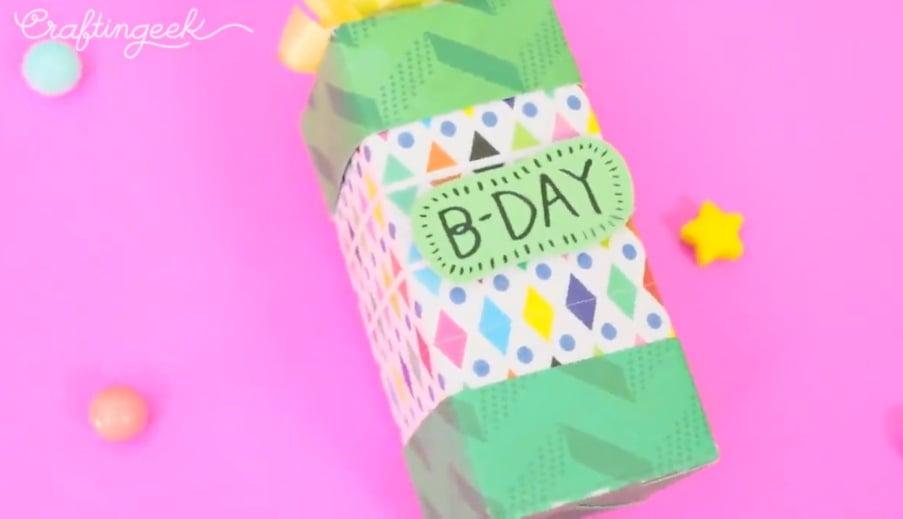 caja de regalo con dulces
