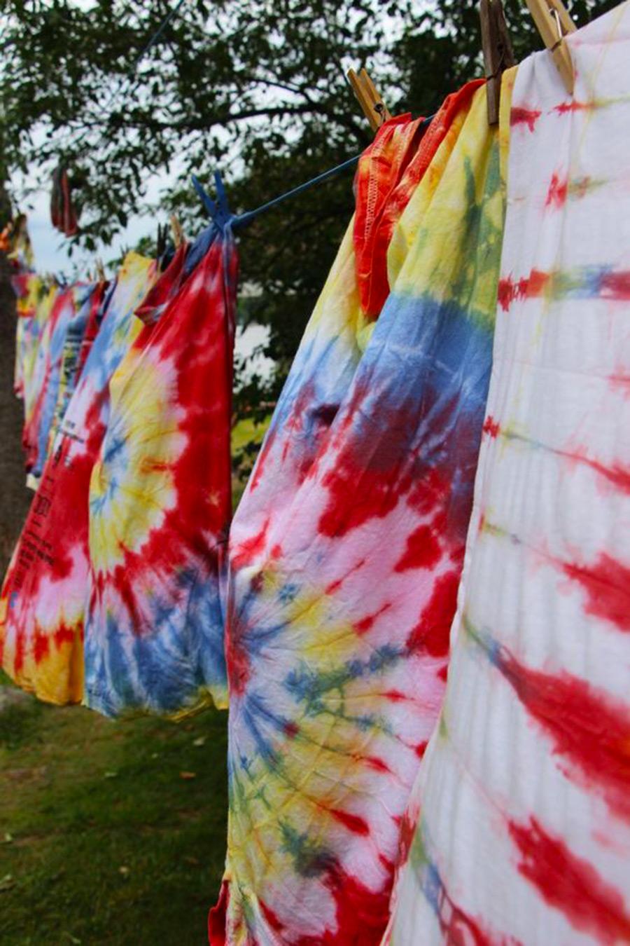 5) Retira y deja secar la prenda
