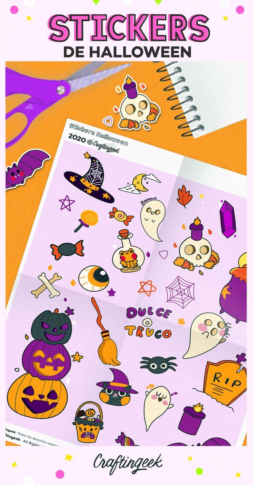 Halloween stickers_Portada