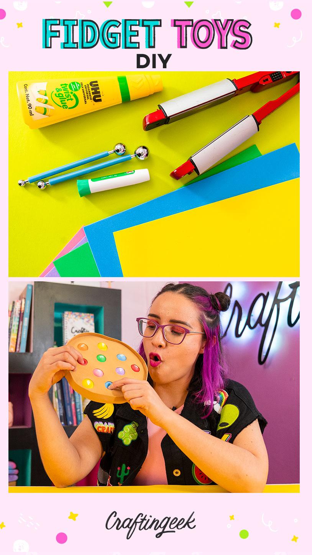 4 ideas de fidget toys caseros fáciles de hacer