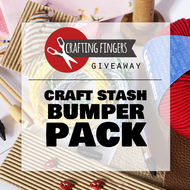 Giveaway   goodies for your craft stash craftingfingers.co.uk