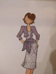 paper dolls Natalie purple 2