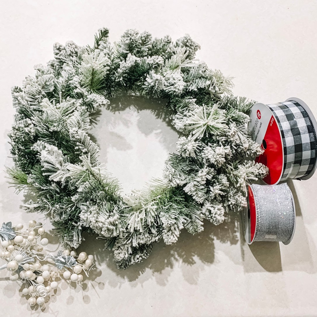 Buffalo Plaid Christmas Wreath