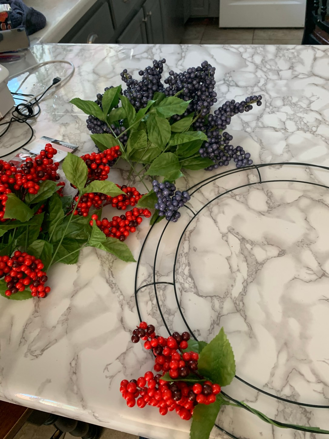 4th of July Berry Wreath