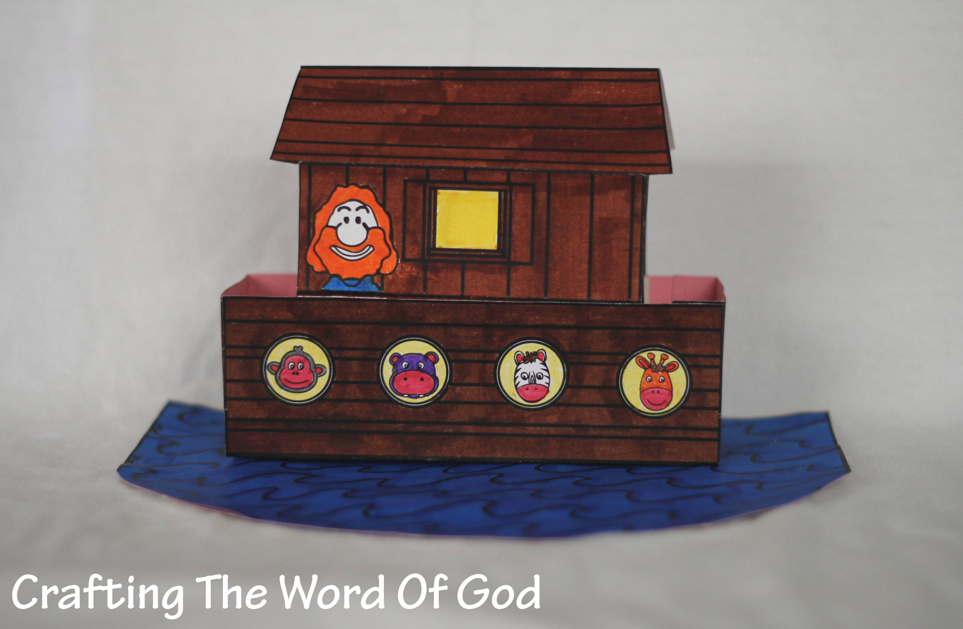 Animals Crafting The Word Of God
