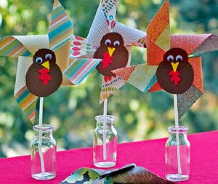 pinwheel turkeys
