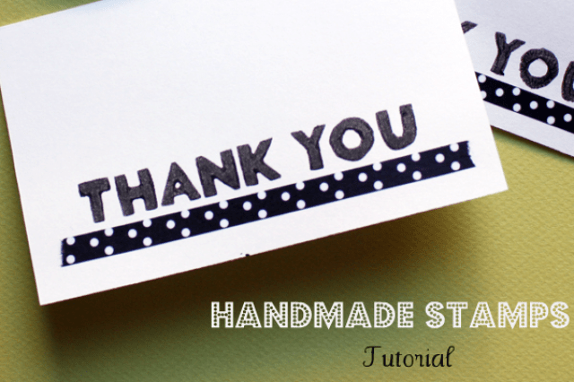 make handmade stamps