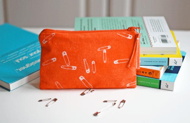 everything-orange-diy-best-ideas-purse-safety-pins