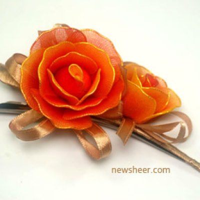 nylon flower craft