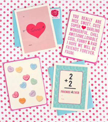 valentines day teachers cards