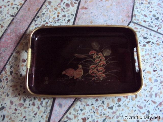 ugly tray refashion