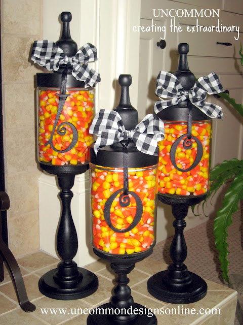 halloween jar decoration