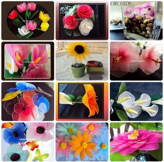 make-nylon-flowers-many-ways