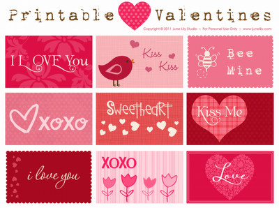gift tags for valentines day