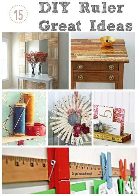 DIY best ruler yardstick ideas