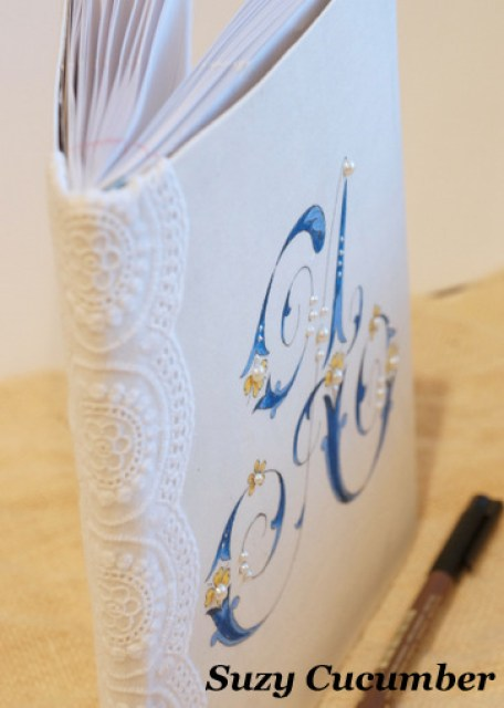 how-to-make-printed-fabric-paper-monogram-book