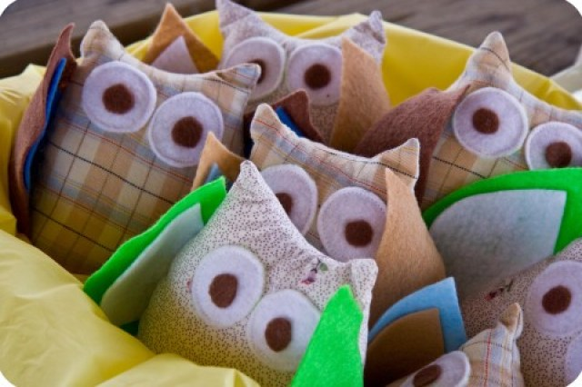 owl party favors tutorial