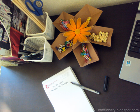 office-stationery-space-paper-folded-organizer