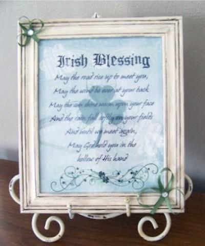 irish blessings print