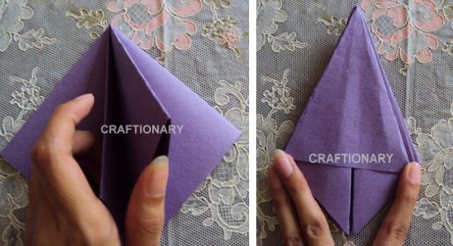 pencil-holder-paper-tulip-origami
