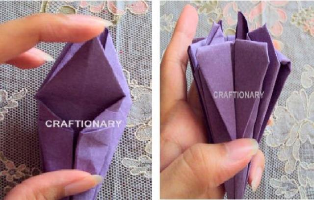 paper-folded-pencil-holder