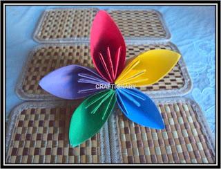 paper-folding-flower-origami