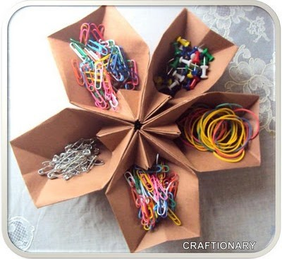 origami-organizer-for-organizing-things-at-home