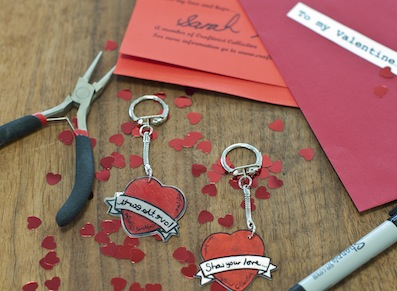 All you need to make your craftivist Tatty Devine designed keyring