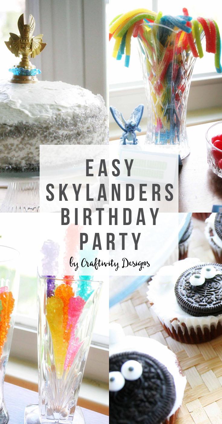 An Easy Skylanders Birthday Party Craftivity Designs