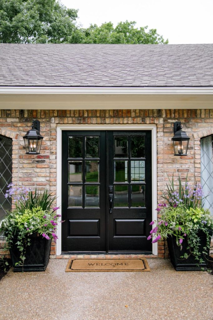 Outside Front Entry Ideas