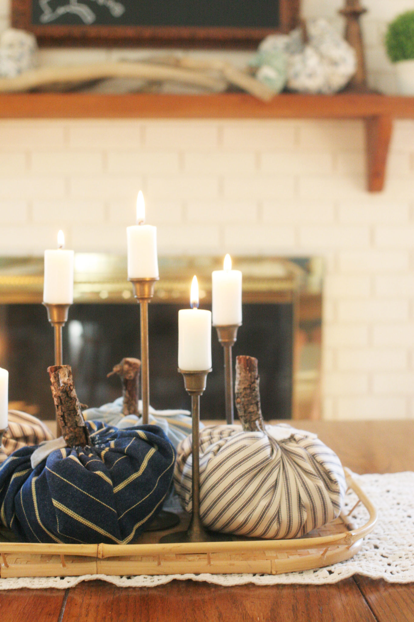 Rustic Natural Fall Home Tour Craftivity Designs