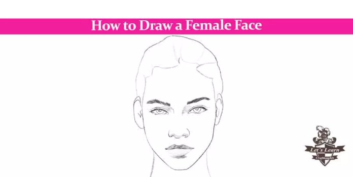 How To Draw A Female Face In 5 Easy Steps Craftknights