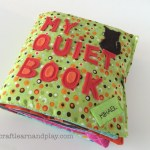 Boy themed quiet book that made stunning handmade gift