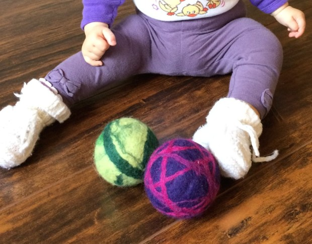 Felt Ball Games for Babies and Toddlers