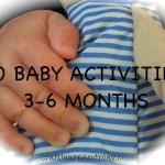 10 Baby Activities 3-6 Months