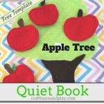 Quiet Book Ideas – Apple Tree Busy Book Pattern