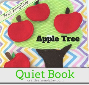 Apple Tree Page with Free Printable Template