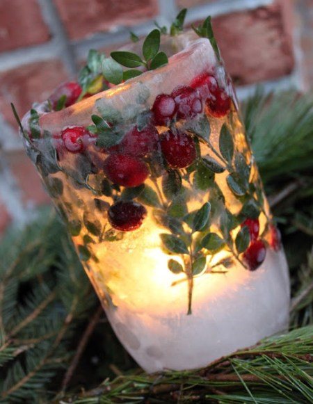 Winter Ice lantern