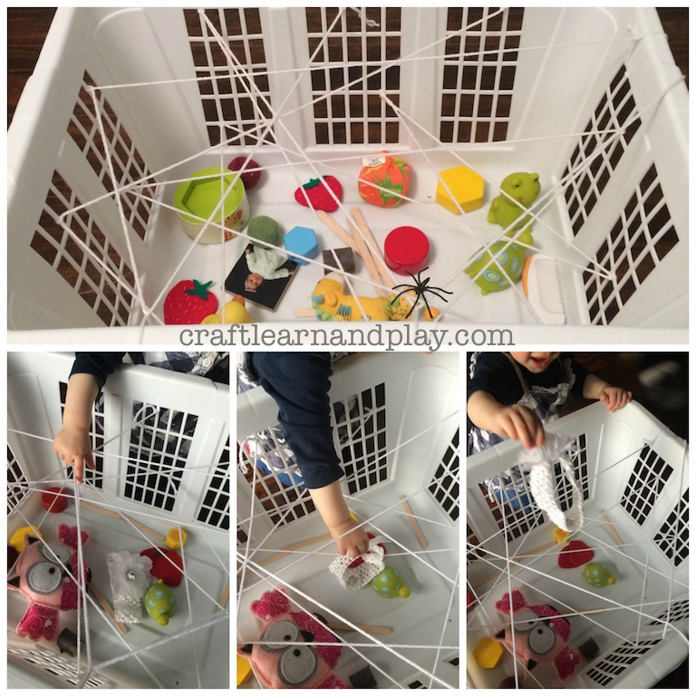 Spider web basket for One year old baby