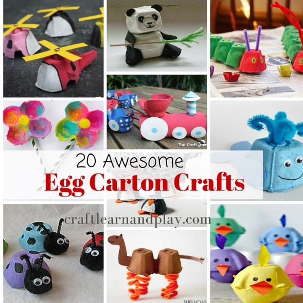 Awesome egg crafts for kids