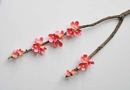 Egg-Carton-Cherry-Blossom-Branch3