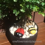 Super Easy Bee And Ladybug Painted Rock For Kids