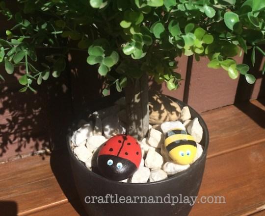 garden stone crafts