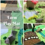 Handcrafted Farm Scenery Playmat – Unique Gift for Toddler