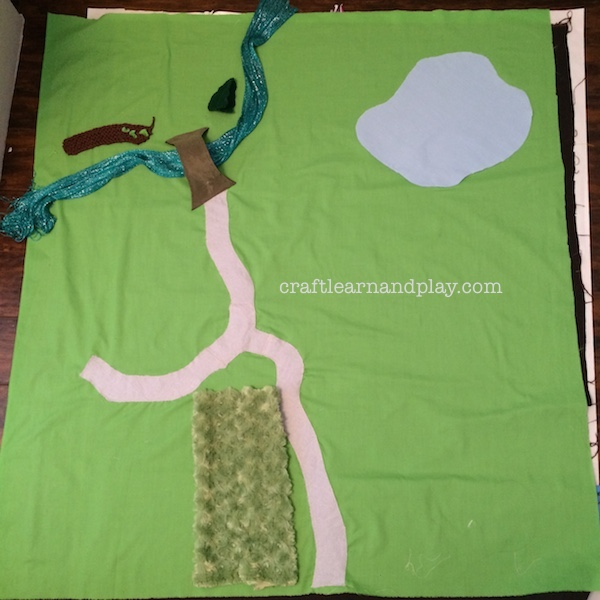 DIY sew play mat
