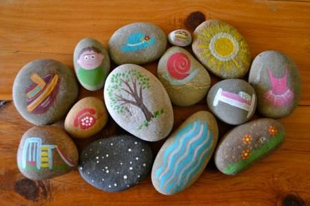 DIY story stones waldorf crafts