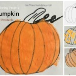 Easy pumpkin coloring projects for young kids