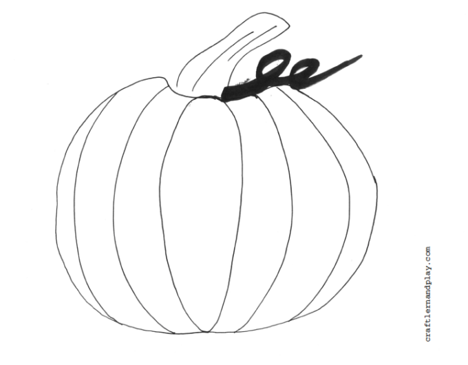 pumpkin-free coloring printable