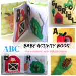 ABC baby activity book